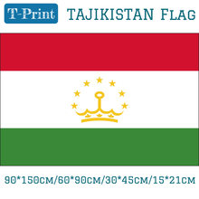 Tajikistan Flag 90*150cm 60*90cm 3ft*5ft 30*45cm 15*21cm For Event / Office / Home decoration(China)