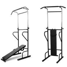 Фитнес мощность башня Dip станция сидеть/тянуть/Пресс/подбородок скамейке бар Домашний тренажерный зал обучение устройства оборудование для мужчин
