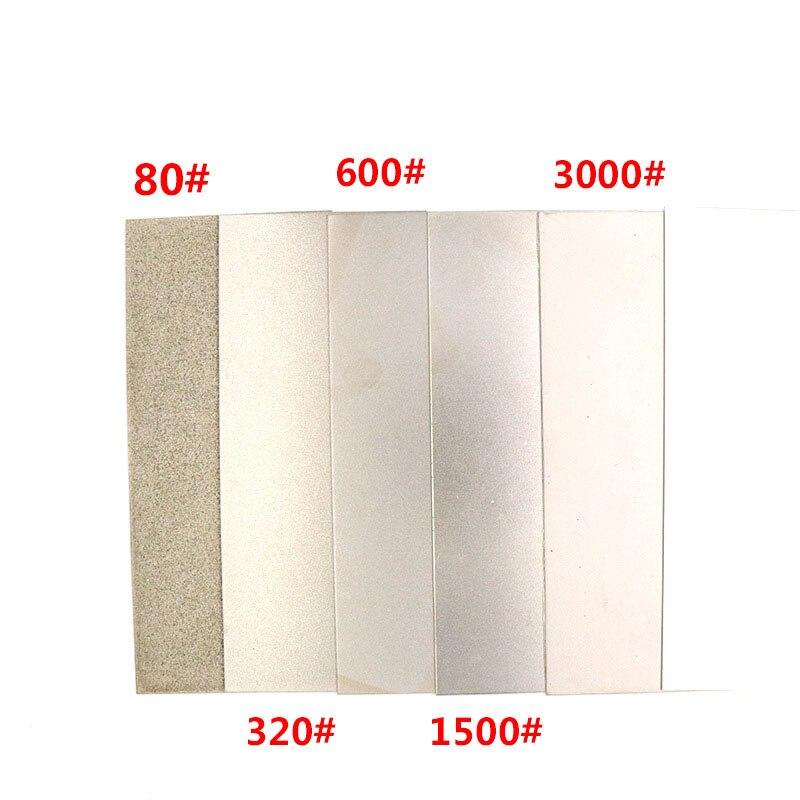80#-3000# Наждачная прямоугольная шлифовальная пластина гравировальный инструмент шлифовальный круг Нефритовое уплотнение полировальный диск полировка алмазный шлифовальный диск