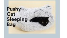 Pushy Cat sleeping bag  House Pet Beds Mats Small Dog and cat Sleeping Warm Nest High quality cotton