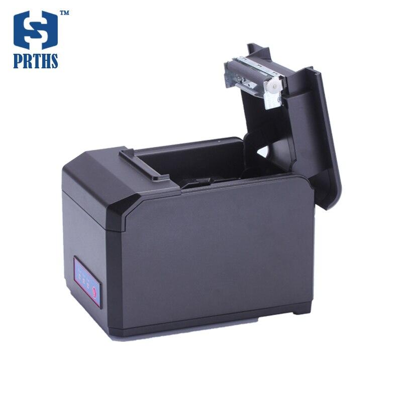 80mm Ethernet drukarka pokwitowań termiczna maszyna do pomoc LOGO graficzny pobrać i wydrukować 58 i 80mm szerokość drukowanie na papierze HS-E81USL