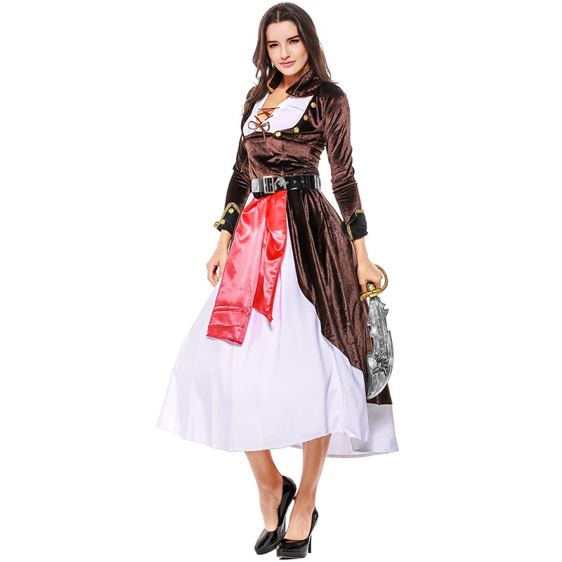 Halloween Lady's Pirate Costume Women Sexy Costumes
