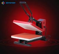 Wtsfwf 38*38CM European Heat Press Printer Machine 2D Thermal Transfer Printer for Tshirts Cases Pads Printing