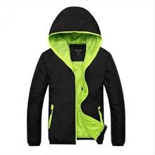 ФОТО smeiarar 2018 men windbreaker spring autumn fashion bomber jacket men's hooded casual jackets male coat thin coat outwear coat