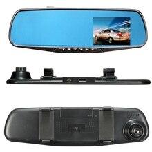 2.8 Pulgadas 1080 P HD Visión Nocturna Coche DVR de la Cámara Del Detector Azul Espejo Retrovisor DVR Grabador de Vídeo Digital Videocámara Auto Dash Cam