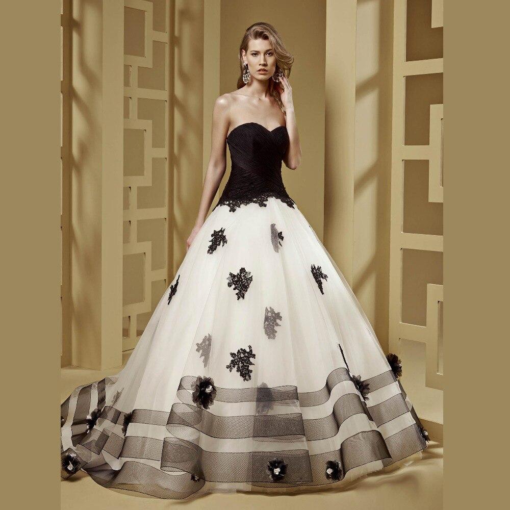 fashion forward wedding gowns black white wedding dress