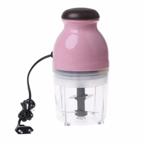Mini Electric Meat Grinder Food Processor Vegetable Fruit Blender Chopper 600ml
