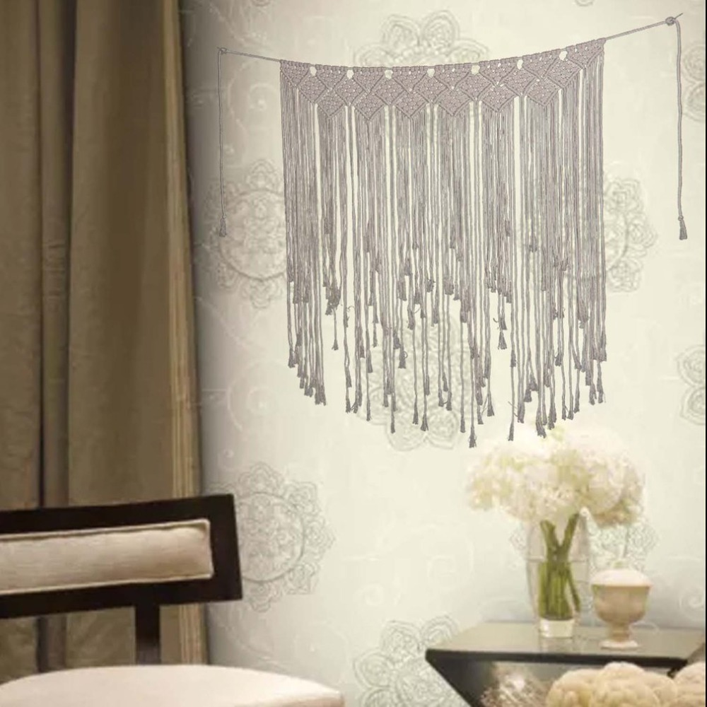 Handicrafts Wall Hanging Tapestry Woven Tassel Bohemian