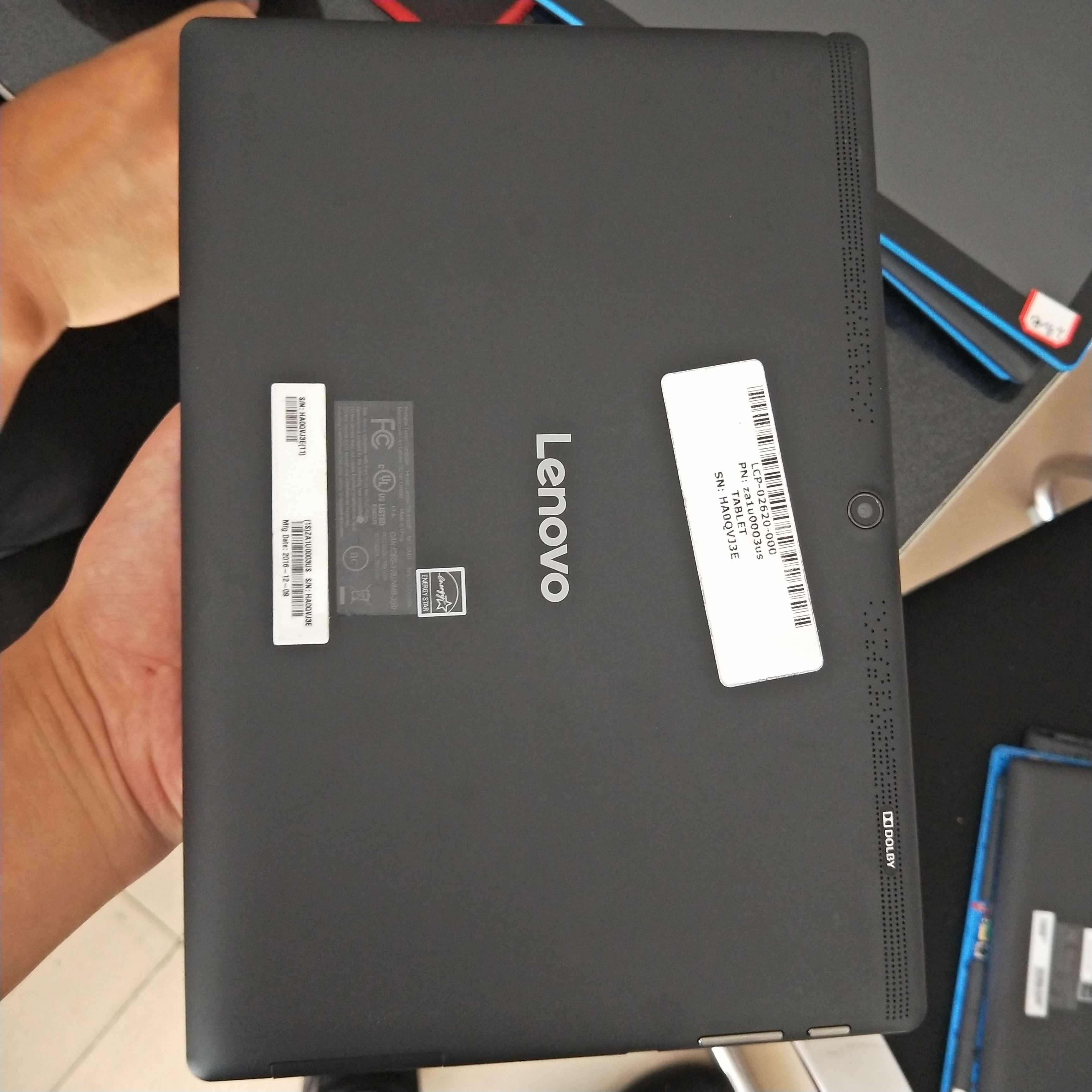 Utilizzato Cattiva madre LCD Display Posteriore della Batteria shell Per Lenovo Tab 3 10 Più TB-X103F TB-X103 TB X103F TB X103