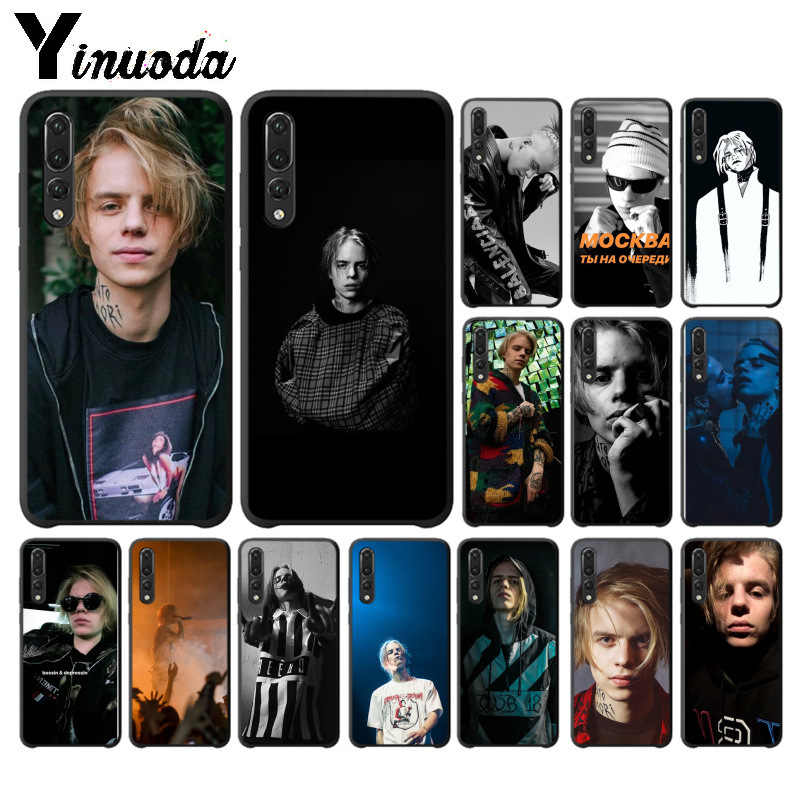 Yinuoda Russia rapper Pharaoh TPU Soft Phone Case for Huawei P10 plus 20 pro P20 lite mate9 10 lite honor 10 view10 Cover