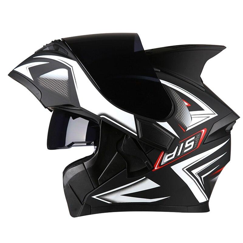 Motorcycle Helmet Modular Moto Helmet Racing Flip Up Helmet Casco Moto Motorbike Helmet With Inner Sun