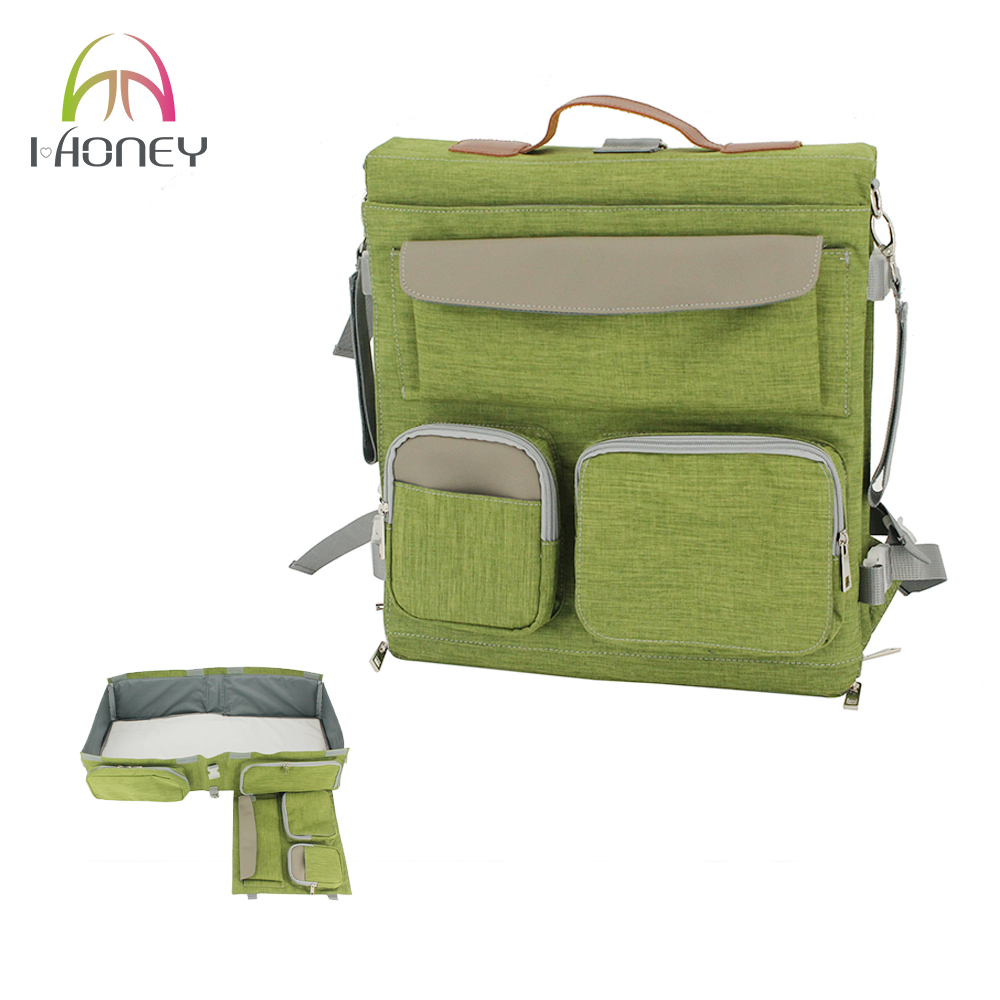 Crib for babies philippines - Ihoney4u Portable Baby Cot Bag Diaper Bag Fashion Backpack For Stroller Large Capacity Travel Bag Baby