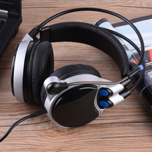Gaming Headset Digital 7.1 Channel Surround Sound USB PC Stereo Musical Headphones with High Sensitivity Microphone LED Light