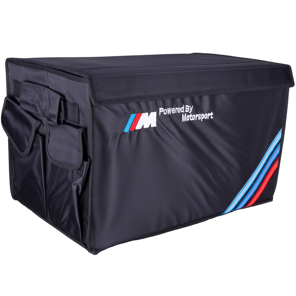 COVERS Heavy Duty Oxford Stowing Tidying Interior Holder Car Foldable Trunk Organizer Storage Bag 50 KG Load Rear Racks For BMW