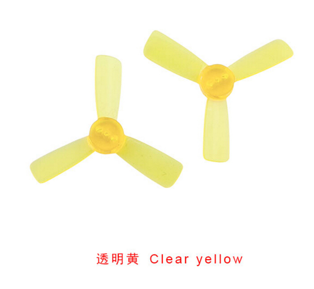 10 Pairs KINGKONG 1935 Propeller 2 Inch CW CCW 3-blade Props for Q90 90GT FPV Drone