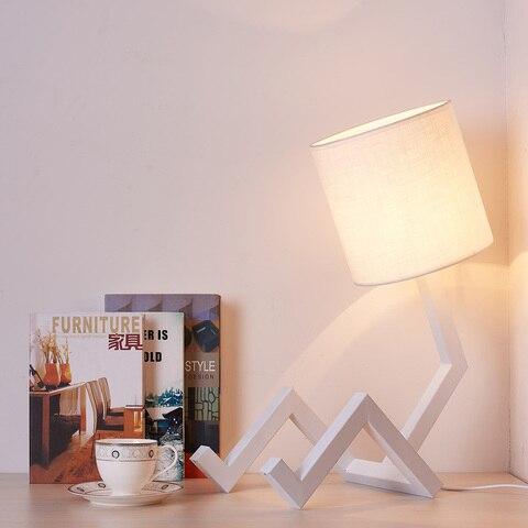 lampada de mesa moderna led para