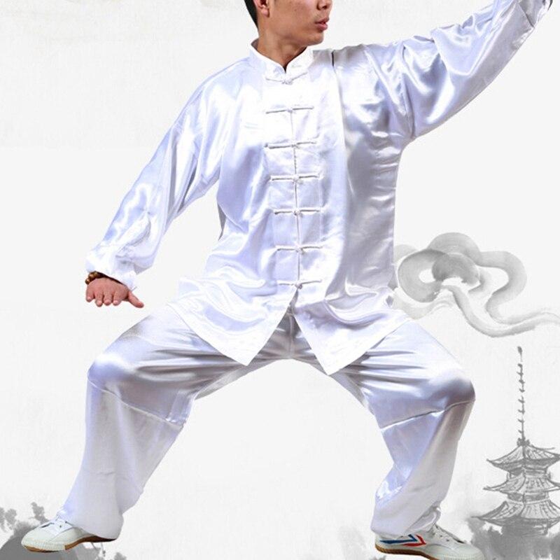 Tai Chi Uniform Wushu Kong fu Taiji Clothing Unisex Long Sleeved Chinese Martial Art Unform Tai Chi Exercise Clothing