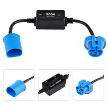 9004 LED Headlight Canbus Decoder Load Resistor Error Free Canceller Anti Flicker