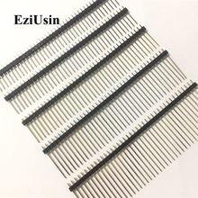 Broche mâle à Double rangée 1.27mm 1.27, connecteur de carte PCB à simple rangée, broche longue 11mm 12mm