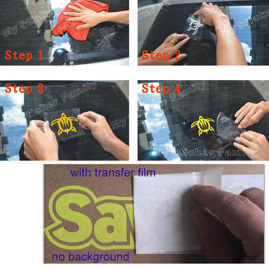 Custom die cut stickers window decals no background contour cut stickers 3m reflective vinyl stickers uv scratch resistance