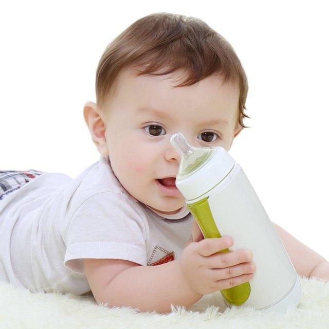 Bebês portáteis Garrafa de Leite Inteligente Estatísticas de Dados De Suporte