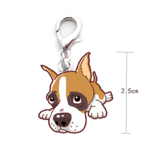 dog tag disc disk pet id enamel accessories collar necklace pendant