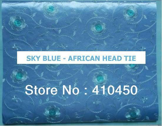 [Express Free Shipping]5bags/set  2013 NEW design African style scarves head ties Nigerian head ties HT003