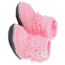 HOT SALE Lovely High-top Tall Boots Shoes Comfortable for 1-18 months baby (Pink)