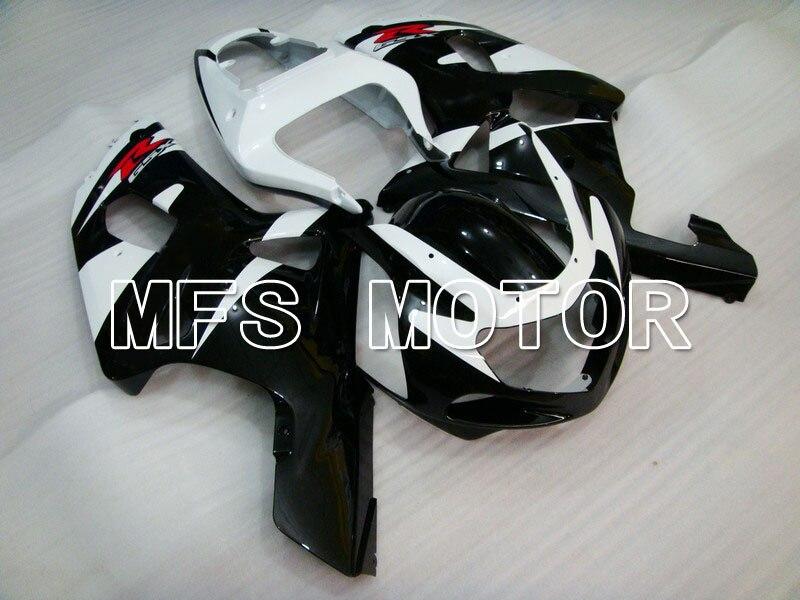 Для Suzuki GSXR600/750 K1 и K2 2001 2002 2003 01 02 03 литья ABS обтекатель комплекты - другие - черный/белый
