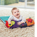 Multifunctional Baby Roller Pillow Baby Climb Blanket Crawl Climb Learning Toys With Teether BB Device Musical Toys 0-12 Months