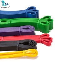 Набор спортивных резиновых резинок из натурального латекса, гимнастический эспандер, Кроссфит, подтягивающий, укрепляющий мышцы