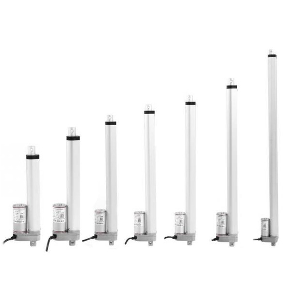 Free shipping 25 450mm 1inch 18inches stroke linear actuator 12v 24v with 1000N 100kgs max load