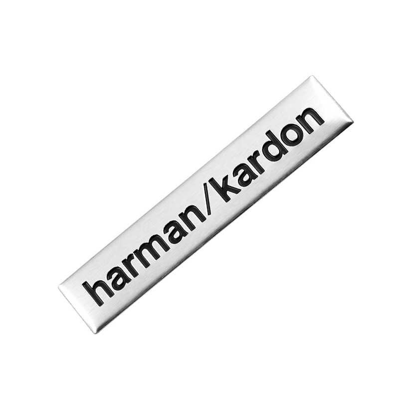 1 piezas Harman/kardon de audio de coche decorar etiqueta para Toyota/skoda/Opel/AUdi/Suzuki/ fiat/BMW/mazda/fiat accesorios para coche