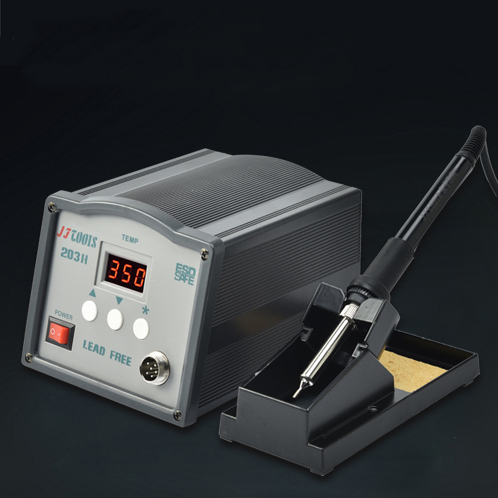 JF 220V high frequency digital display temperature control lead-free soldering platform constant temperature electric iron 907 adjustable constant temperature lead free soldering iron