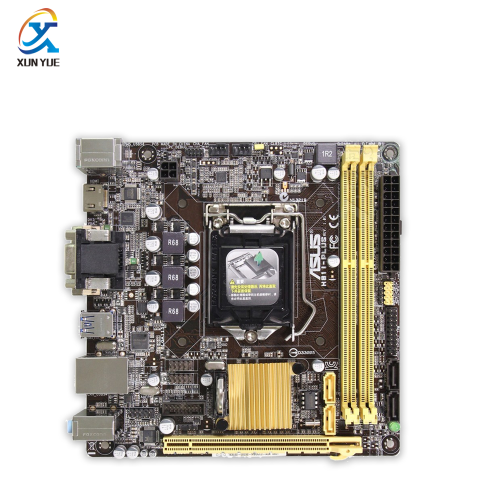 New asus h81m k motherboard cpu i3 i5 i7 lga1150 intel h81 ddr3 sata3 - H81i Plus Original Used Desktop Motherboard Intel H81 Socket Lga 1150 I7 I5 I3 Ddr3