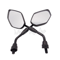 ONE Pair New Racing Motorcycle Mirror Accessories Scooter Parts Motor Rearview Mirrors For Suzuki Kawasaki Honda