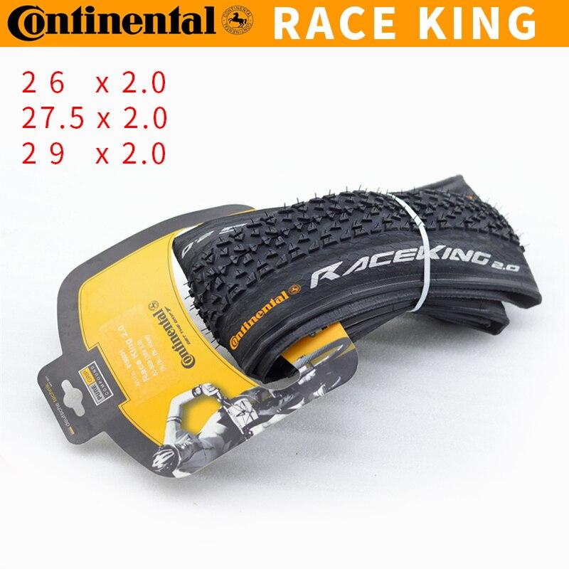 26/27.5/29 * 2.0 MTB Bicycle Tires Race King C0NTINENTAL Folding Ultralight Mountain Bike Tire цена