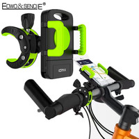 EDWO New 360 Rotation Bike Motorcyc Mount Bicycle Mobile Stand For 3 5 6 3 Inch