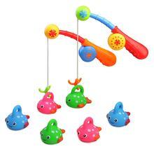 Детские игрушки для ванной развлекательная рыболовная удочка