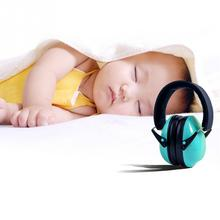 Baby Sleeping Noise Insulation Ear Cups Defenders Hearing Protectors Foldable Headband Ear Muffles Earmuffs for Kids Children