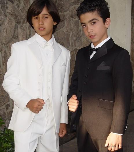 High Quality Five Buttons Notch Lapel Boy&039;s Formal Wear Occasion Kids Tuxedos Wedding Party Suits (Jacket+Pants+Vest+Tie)