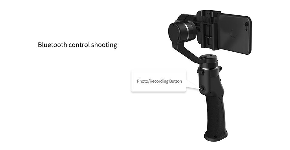 Capture 3-Axis Handheld Gimbal Stabilizer Face tracking Motorized Steadycam for iPhone X Samsung S8 Huawei P Pro 18