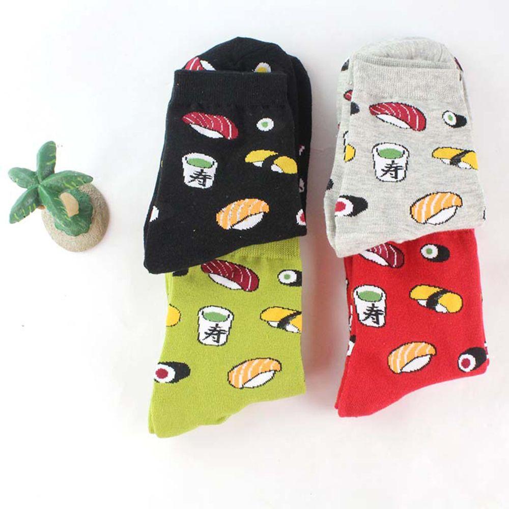 Забавные носки в стиле Харадзюку, дизайнерские носки с суши для женщин и девушек, японские короткие носки, новинка, Лидер продаж