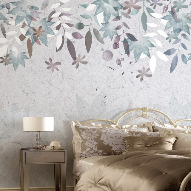 European style washable wallpaper living room bedroom wall decor floral wallpaper for living room bed room