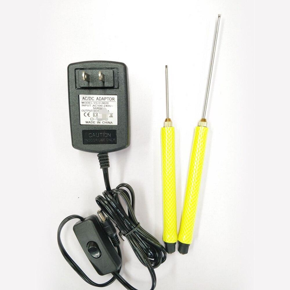 Elektrische Schaum Cutter Maschine Stift Edelstahl Styropor Cutter DIY Tragbare Styropor Schneiden Maschine Werkzeuge 5/10/15 /20/25CM