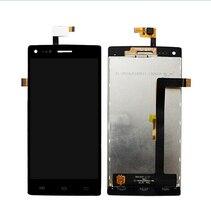 100% oringal noir écran LCD et écran tactile assemblée remplacement parfait pour THL W11 smartphone pièces