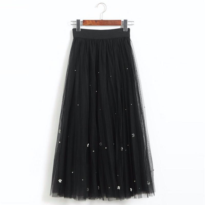 lace long skirt 07
