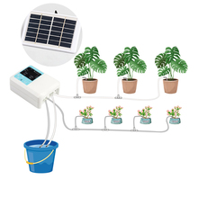 Solar Plant Intelligent Garden Automatic Watering Controller Plants Drip Irrigation Device Water Pump Timer System equipment exported to 58 countries solar water pomp 3 years guarantee solar pump system for irrigation