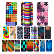 Soft silicone Phone Case for iPhone 7 6 6S 8 Plus XR X XS MAX 5 5S SE cover Solid geometric mosaic pattern nice TPU Shell Coque цена и фото