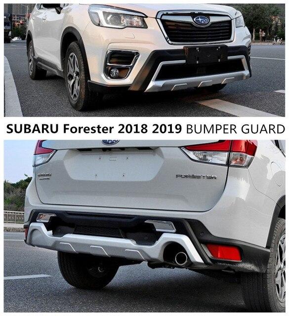 For Subaru Forester 2018 2019 Bumper Guard Front Rear Diffuser